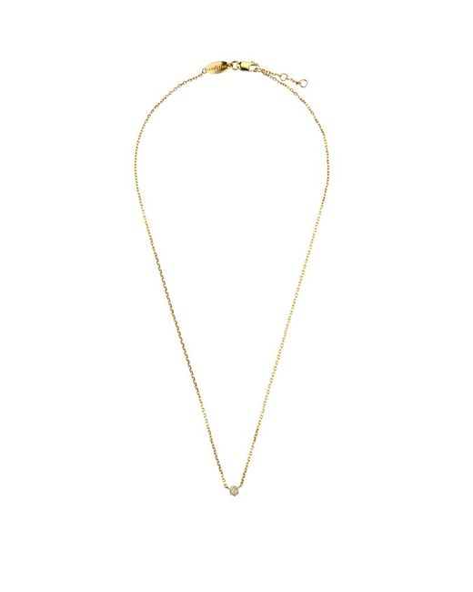 RedLine | Yellow Diamond Illusion Chain Necklace | Lyst