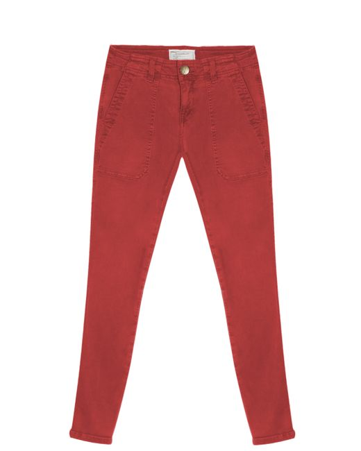 Current/Elliott | Red Conductor Skinny Jeans | Lyst
