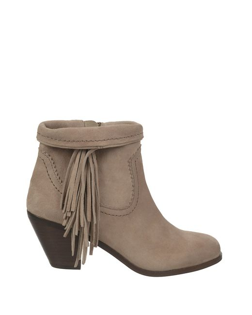 Sam Edelman | Brown Louie Suede Ankle Boots | Lyst