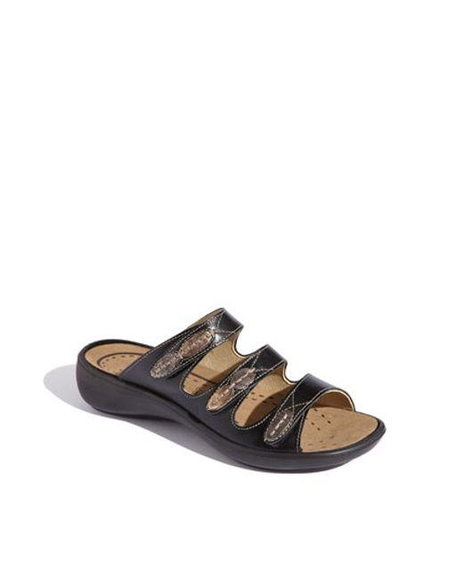 Romika | Black Romika 'ibiza 20' Sandal | Lyst
