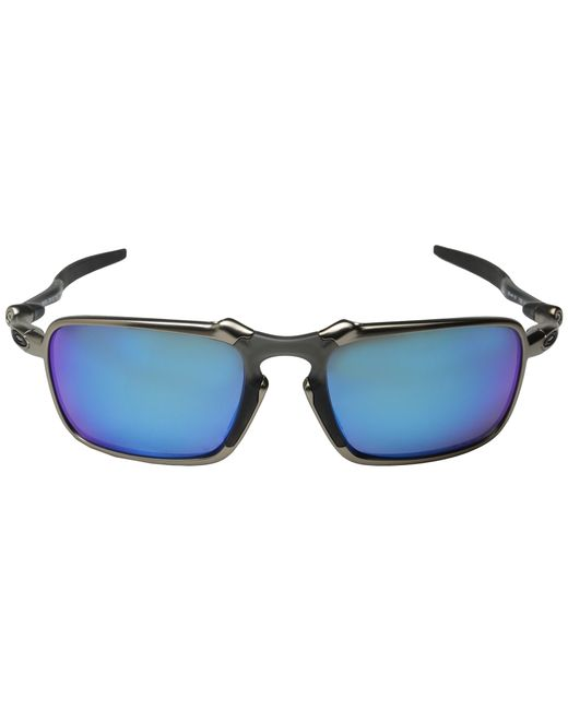 Oakley | Blue Badman for Men | Lyst