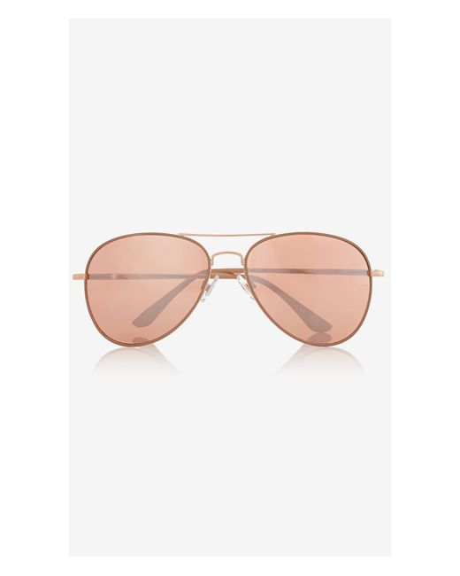 ca1f5025a3 Rose Gold Mirrored Sunglasses Topshop - Bitterroot Public Library