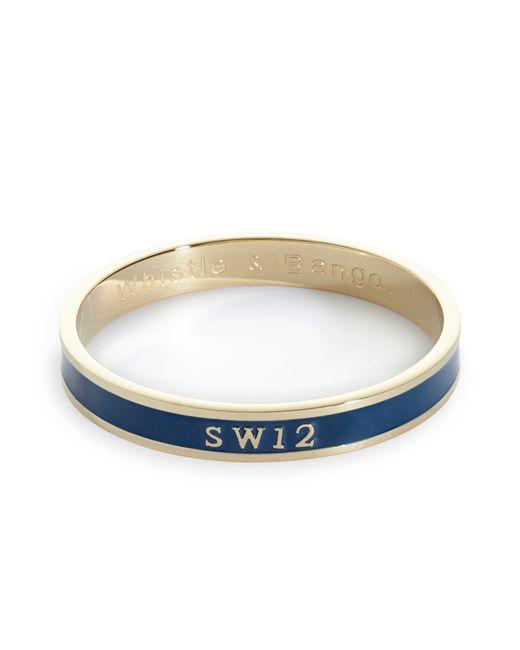 Whistle & Bango   Blue Sw12 Bangle   Lyst