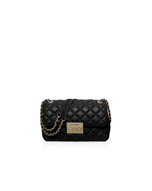 MICHAEL Michael Kors | Black Sloan Large Chain Shoulder Bag | Lyst