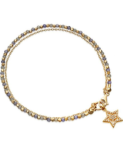 Astley Clarke | Metallic Iolite Super Star 14ct Gold | Lyst