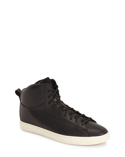 CLAE | Black 'frazier' High Top Sneaker for Men | Lyst