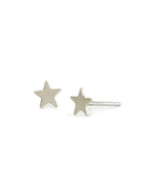 Kris Nations | Metallic Star Stud Earrings | Lyst