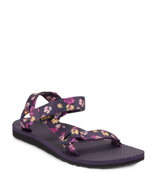 Teva Original Floral-print Sandals In Multicolor