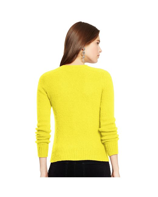 Polo ralph lauren Wool-cashmere Sweater in Yellow (optic