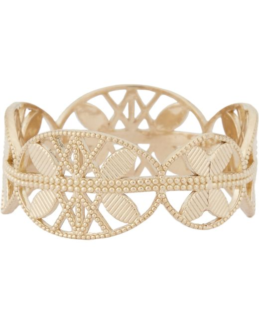 Grace Lee   Metallic Gold Lace Aztec Ring   Lyst