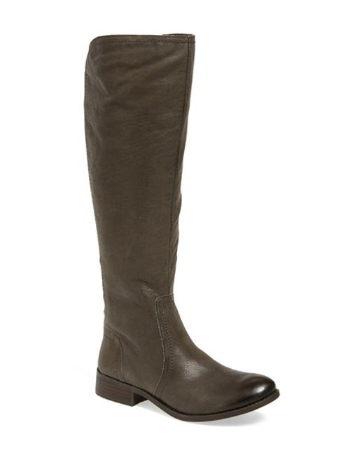 Jessica Simpson | Brown Randee Leather Tall Boots | Lyst