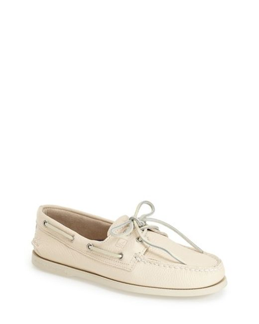Sperry Top-Sider | White 'authentic Original' Boat Shoe for Men | Lyst