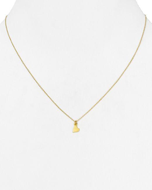 "Dogeared | Metallic Daughter Heart Pendant Necklace, 18"" | Lyst"