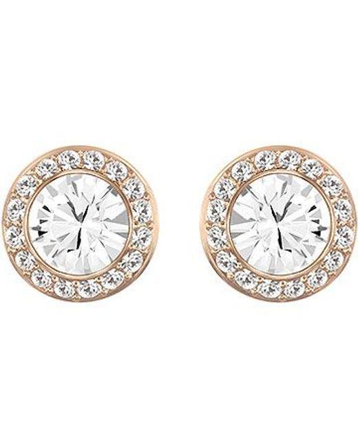 Swarovski | Pink Angelic Earrings | Lyst