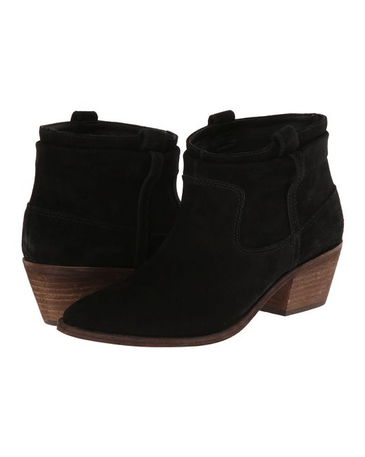 Joie | Black Ajax Suede Ankle Boots | Lyst