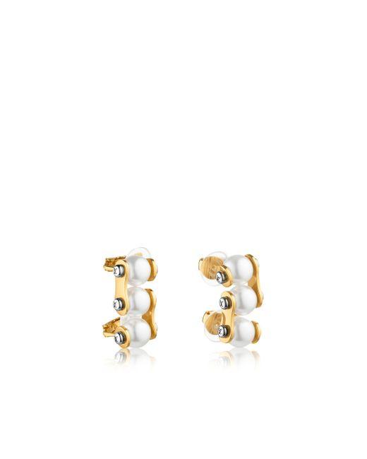 Louis Vuitton   Metallic Lv Speedy Pearls Ear Cuffs   Lyst