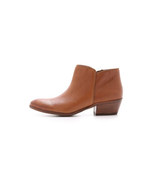 Sam Edelman   Brown Petty Suede Ankle Boots   Lyst