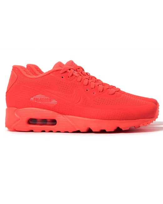 nike air max 90 ultra moire in red for men lyst. Black Bedroom Furniture Sets. Home Design Ideas