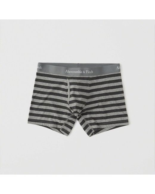 Abercrombie & Fitch - Gray Boxer Brief Exchange Color / Size for Men - Lyst