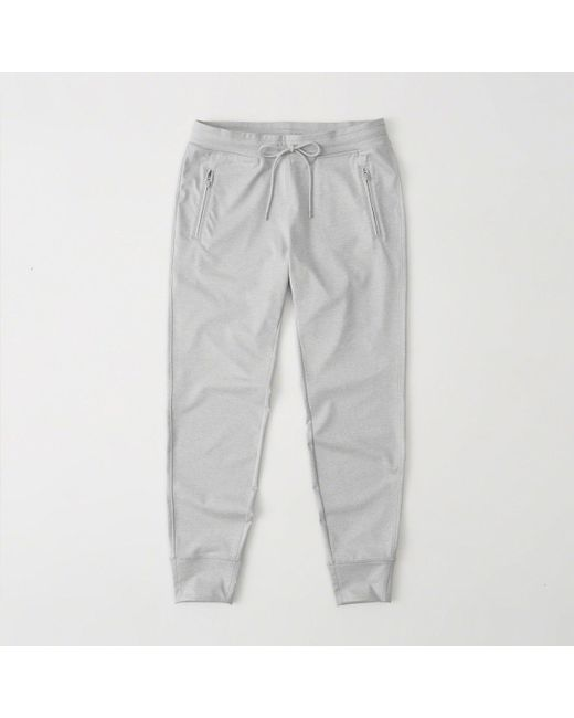 Abercrombie & Fitch - Gray Zip-pocket Jogger - Lyst