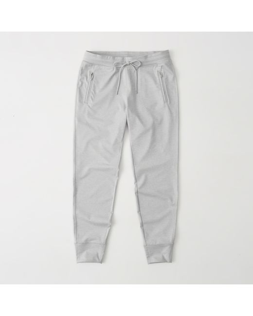 Abercrombie & Fitch | Gray Zip-pocket Jogger | Lyst