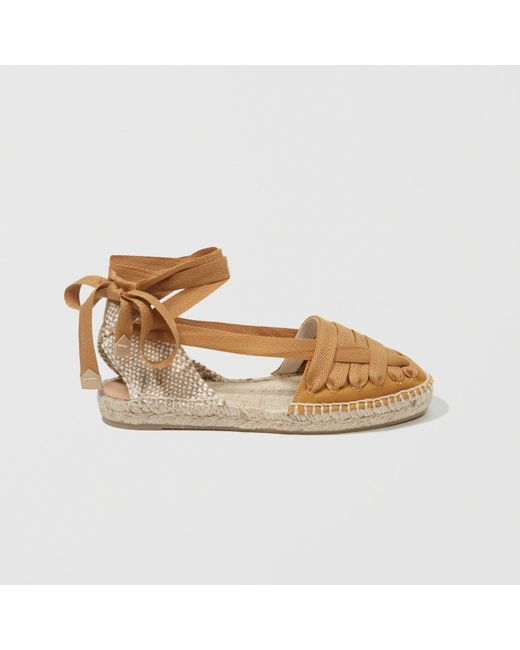 Abercrombie & Fitch | Yellow Castaner Jean Espadrilles | Lyst