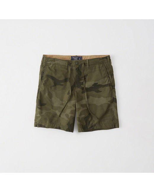Abercrombie & Fitch - Green Nylon Running Shorts for Men - Lyst
