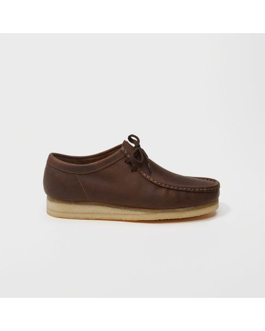 Abercrombie & Fitch   Brown Clarks Wallabee Boot for Men   Lyst