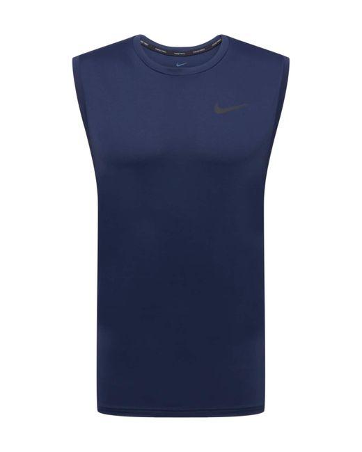Nike Trainingstop in Blue für Herren