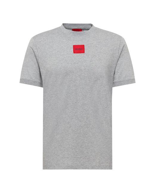 HUGO Shirt 'Diragolino' in Gray für Herren