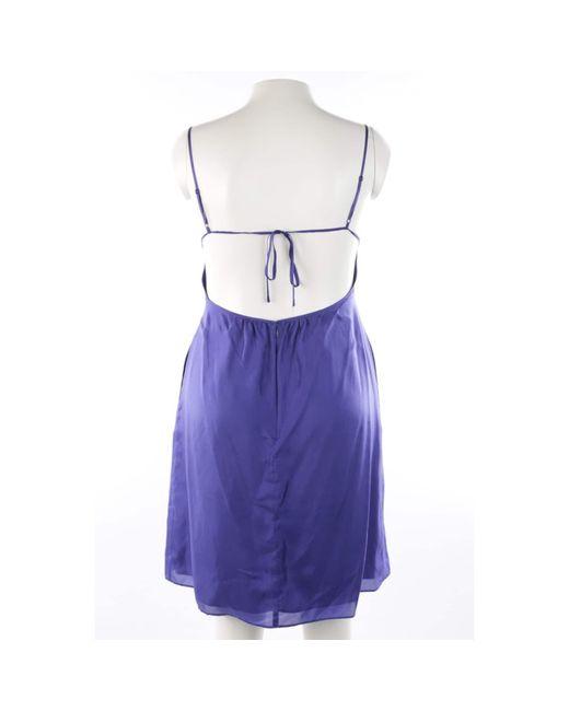 INTROPIA Blue Seidenkleid