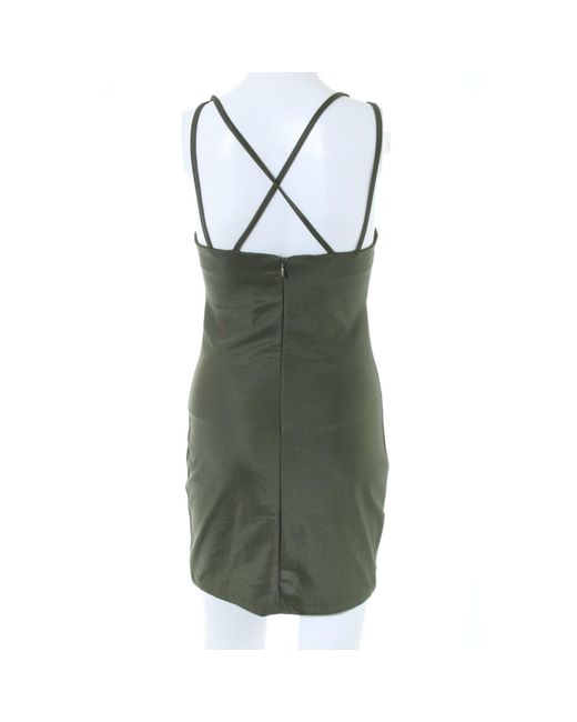 Rare London Green Cut-Out-Kleid