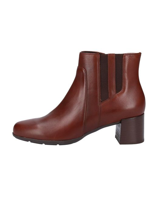 Geox Brown Stiefelette