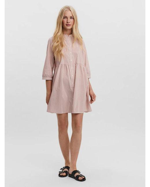 Vero Moda Kleid In Pink Lyst