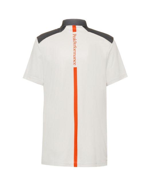 Peak Performance Funktionsshirt 'Brandon' in White für Herren