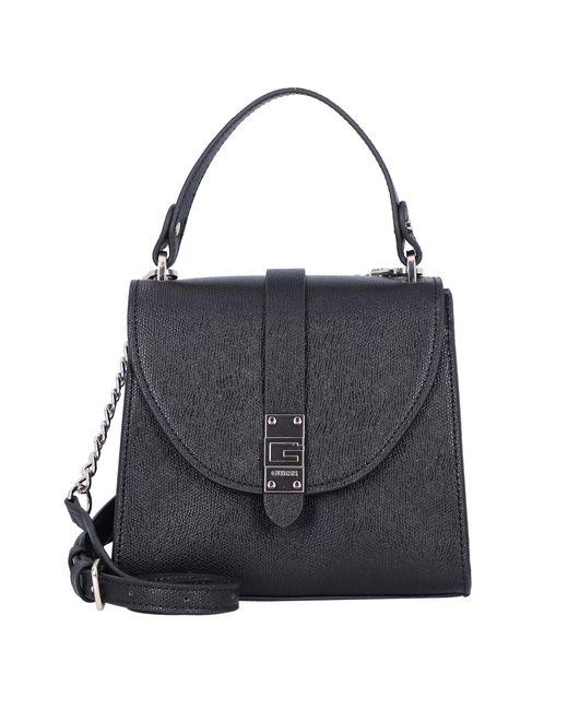 Guess Black Handtasche 'Nerea Top Handle Flap '
