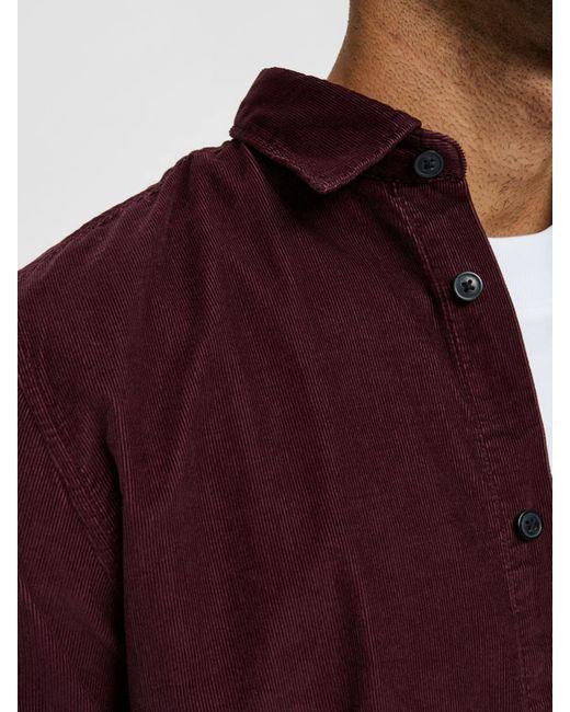 SELECTED Hemd in Red für Herren