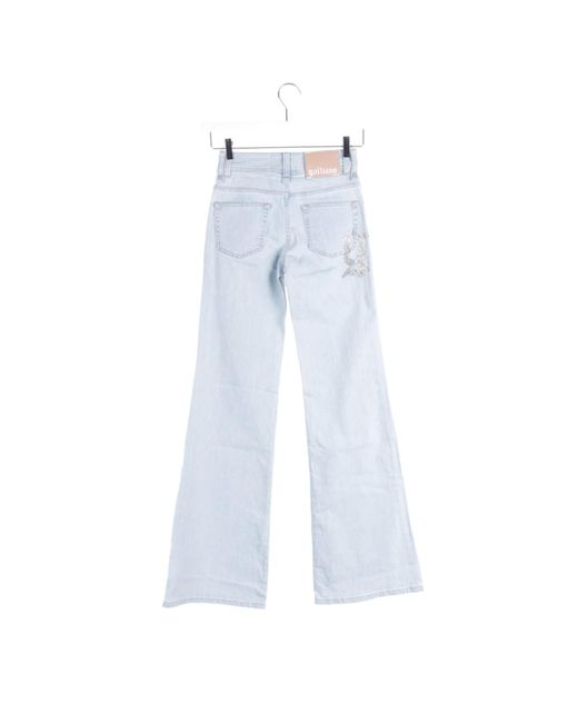 John Galliano Blue Jeans