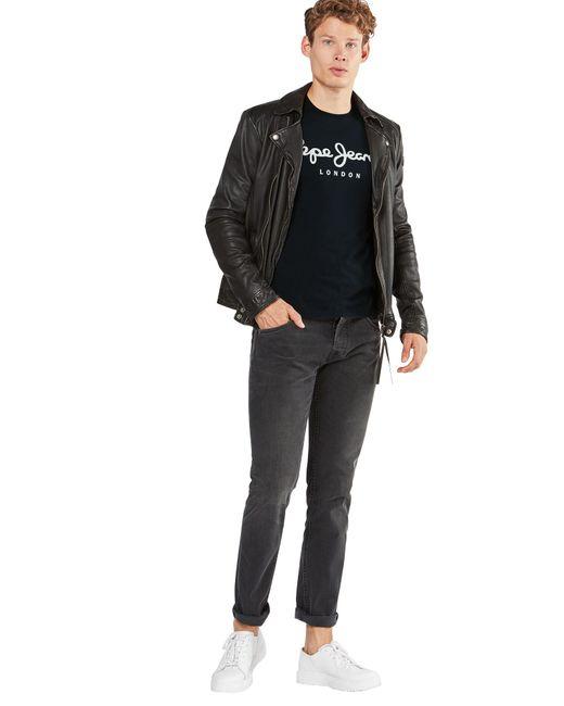 Pepe Jeans Shirt 'ORIGINAL STRETCH' in Black für Herren