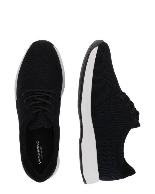 Vagabond Black Sneaker 'Cintia'