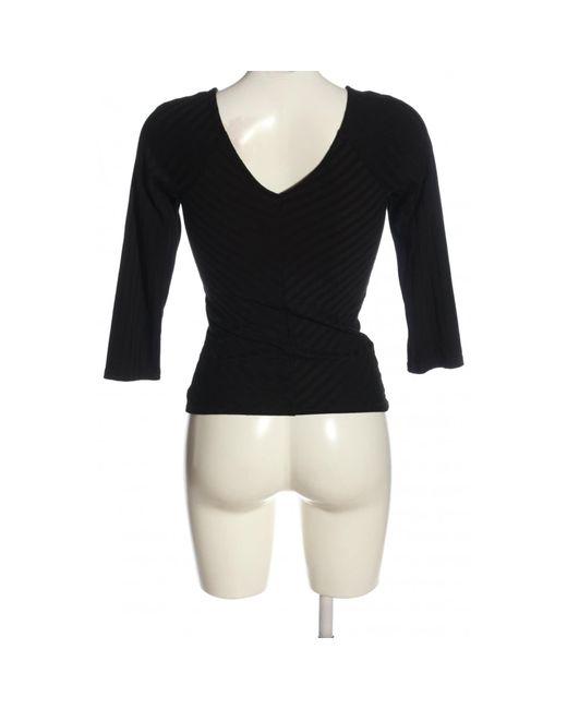 ONLY Black V-Ausschnitt-Pullover