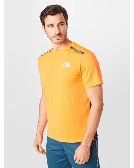 The North Face Sportshirt in Orange für Herren