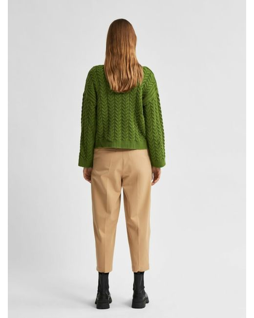 SELECTED Green Pullover