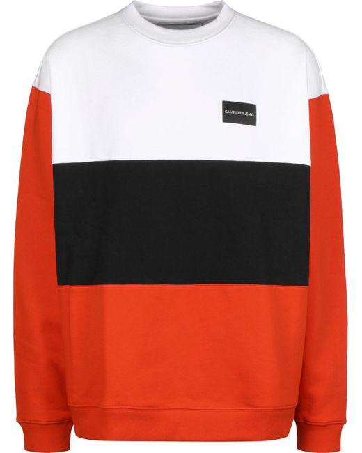 Calvin Klein Sweatshirt in Multicolor für Herren