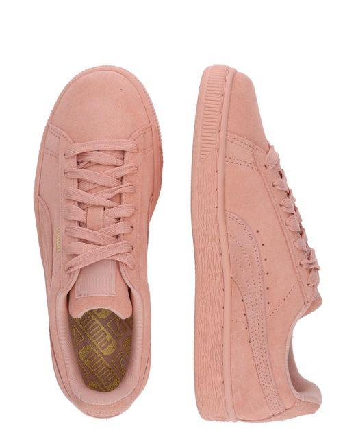PUMA Pink Sneaker 'Suede Classic'