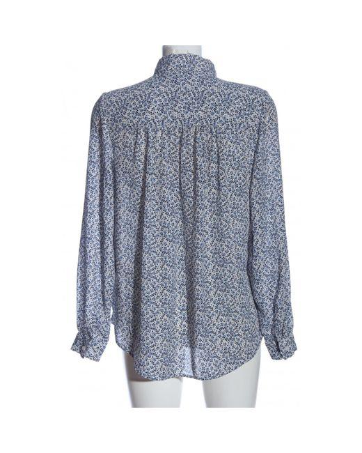 H&M Blue Langarmhemd