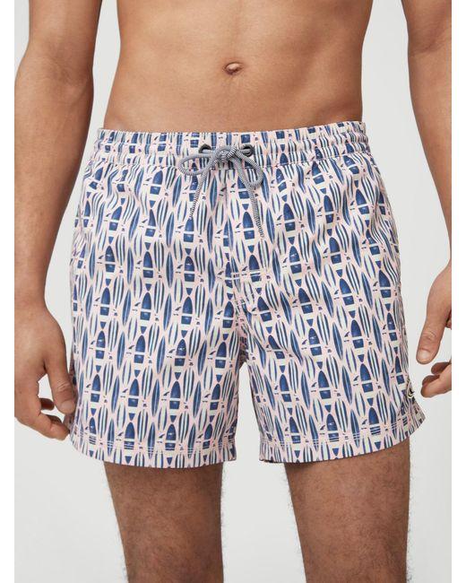 O'neill Sportswear Badeshorts in Blue für Herren