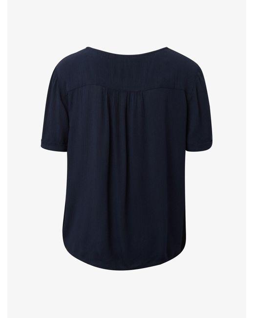 Tom Tailor Blue Bluse