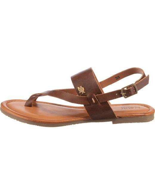 Mexx Brown Sandale 'Evelinn'