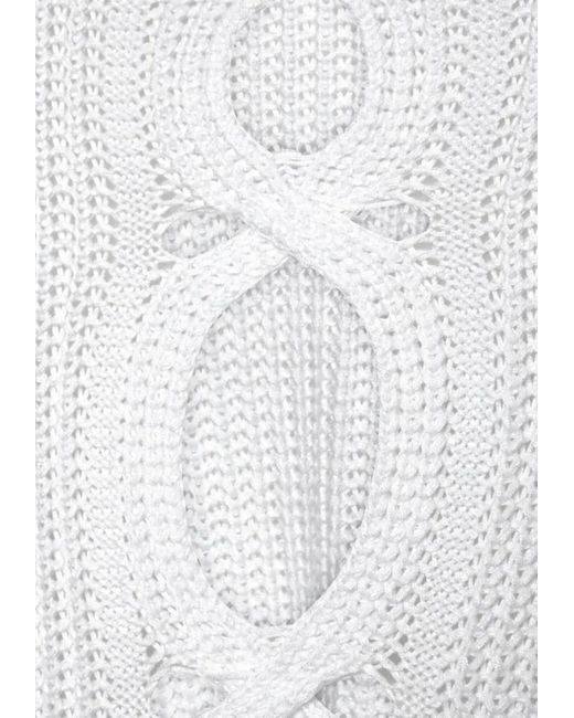 Lascana White Strandpullover